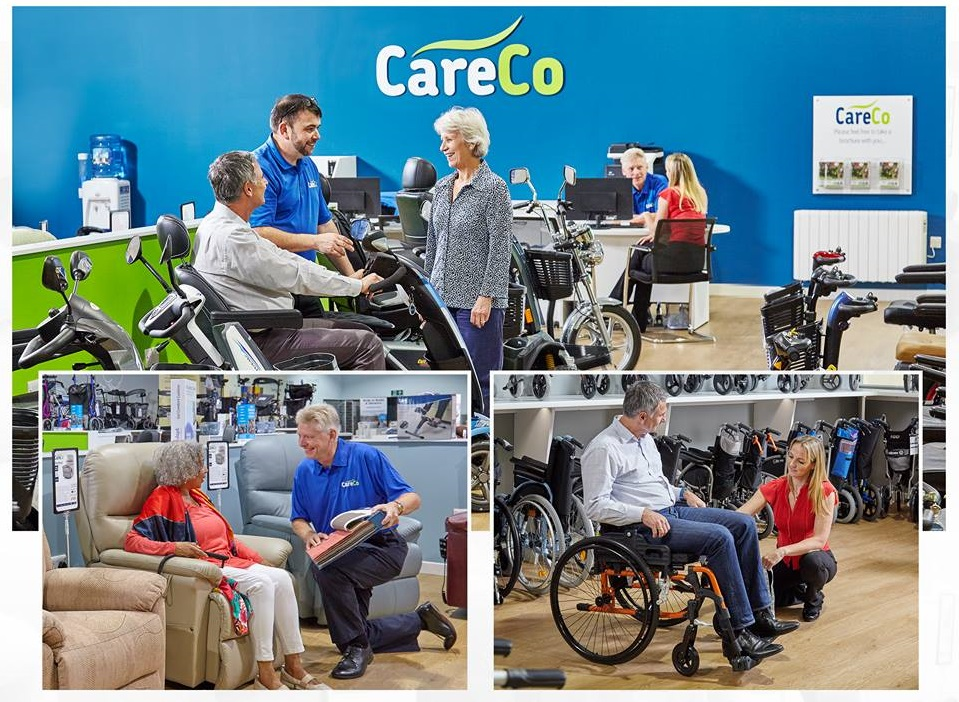 CareCo mobility aids shop