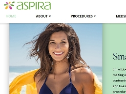 https://aspiraplasticsurgery.com/ website