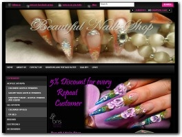 http://www.beautifulnailsshop.co.uk website