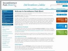 https://incontinencepadsdirect.co.uk/ website