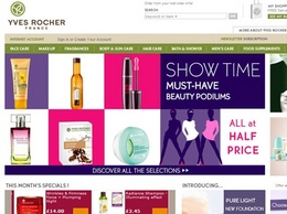 https://www.yves-rocher.co.uk/ website