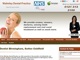 https://www.walmleydental.co.uk/ website