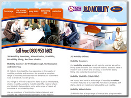 http://jd-mobility-northampton.co.uk/ website