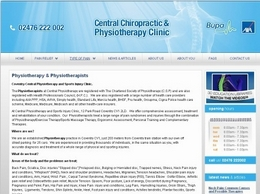 http://www.centralchiropracticclinic.co.uk/ website
