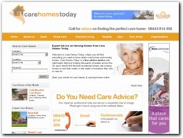 https://carehomestoday.co.uk website