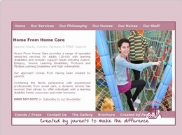https://www.homefromhomecare.com website