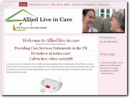 http://www.alliedliveincare.co.uk/ website