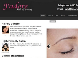 http://www.jadorehair.co.uk website