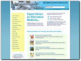http://www.safealternativemedicine.co.uk/ website