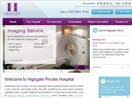 https://www.highgatehospital.co.uk/ website