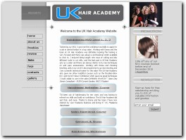 http://www.ukhairacademy.co.uk website