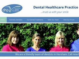 https://www.dentistshorsham.co.uk/ website