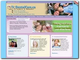 https://www.bcdentalcare.ca website