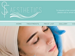 https://www.sfaesthetics.co.uk/ website