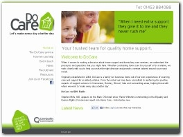 http://www.docare.co.uk website