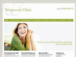 https://wentworthclinic.co.uk/ website