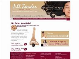 https://jillzander.co.uk website