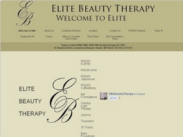 http://elitebeautytherapy.com website