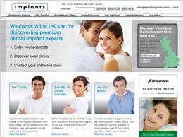 http://dentalimplantsclinics.co.uk/ website
