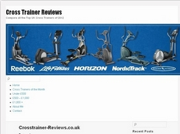 http://crosstrainer-reviews.co.uk website
