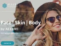 https://www.alluremedicalaesthetic.com/ website