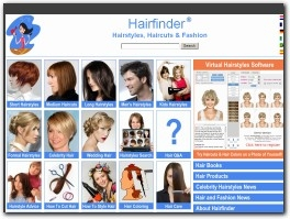 http://www.hairfinder.com website