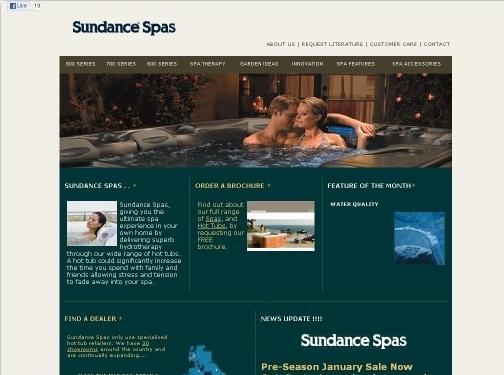 https://www.sundance-spas.co.uk/ website