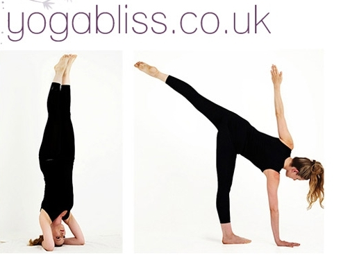 https://www.yogabliss.co.uk website