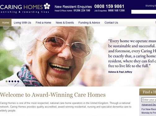 https://www.caringhomes.org/lancashire/ website