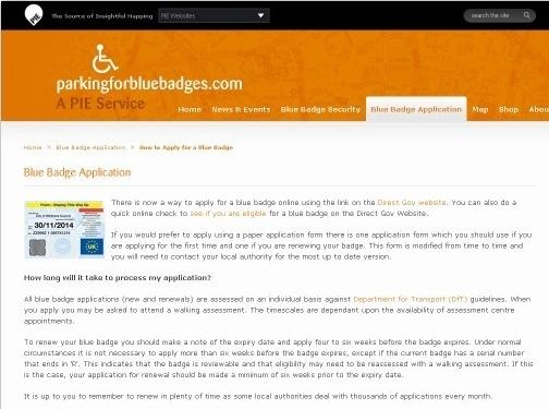 http://www.parkingforbluebadges.com/application-blue-badge-pfbb/pfbb-how-to-apply-for-a-blue-badge website
