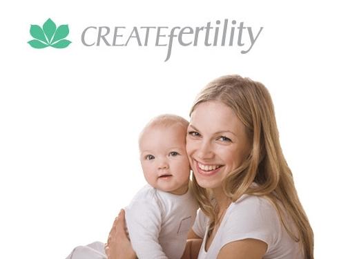 https://www.createfertility.co.uk/ website