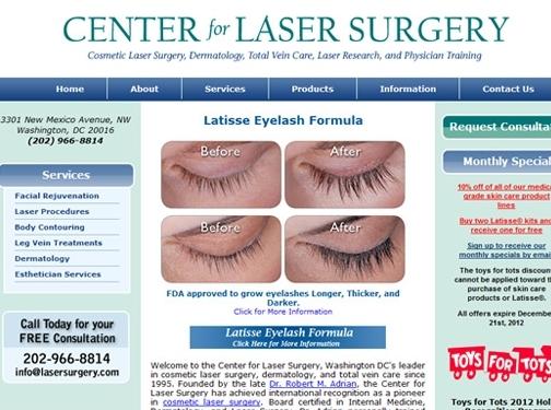 https://lasersurgery.com website