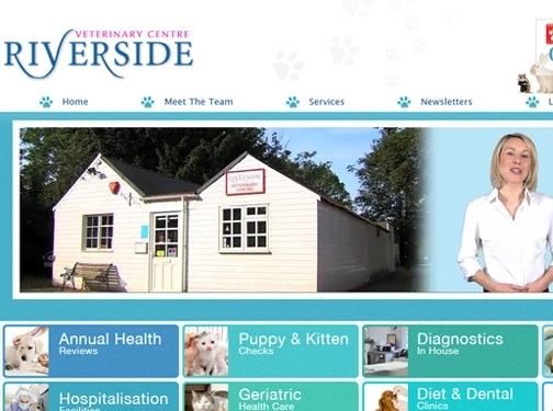 http://www.riversidevetcentre.com/services website