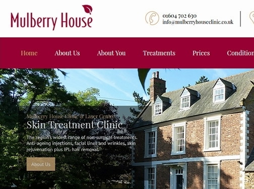 https://www.mulberryhouseclinic.co.uk/ website