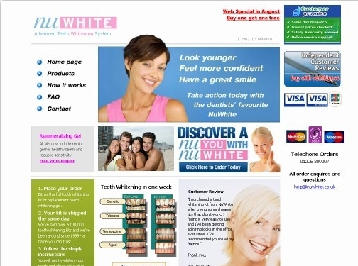 http://www.nuwhite.co.uk website
