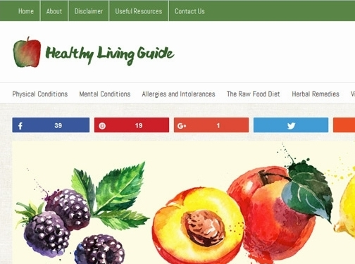 https://www.healthy-living.guide/useful-resources/ website