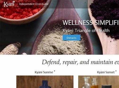 https://extraordinarylife.kyani.com/en-us/ website