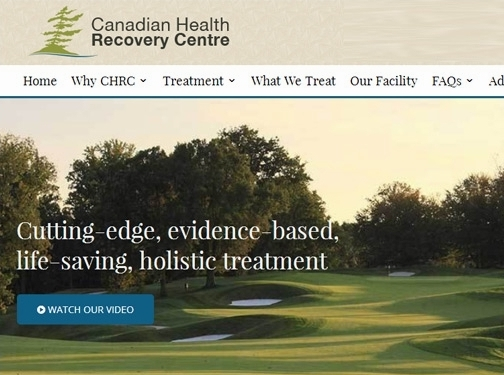 http://canadianhealthrecoverycentre.ca/ website