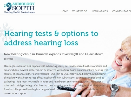 https://audiologysouth.co.nz/ website