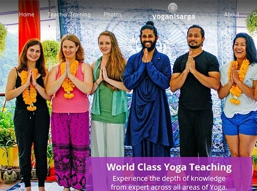 https://yoganisarga.com/ website