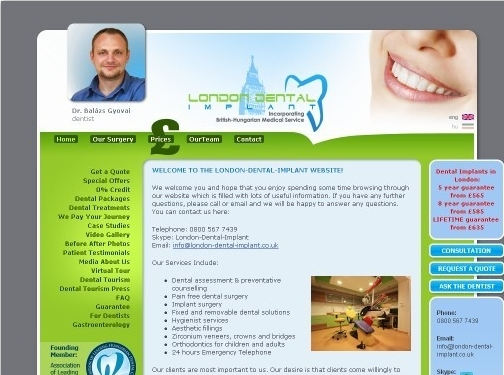 https://www.london-dental-implant.co.uk website