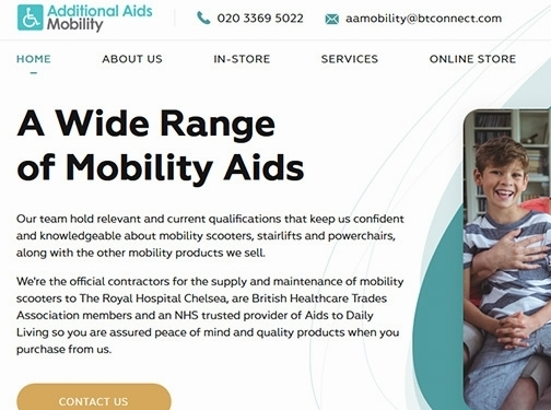 https://www.aamobility.co.uk/ website