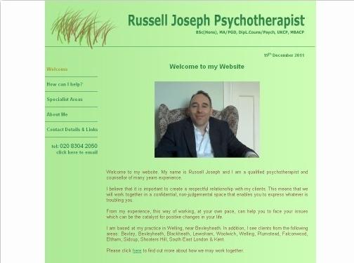 https://www.rjosephukcptherapist.co.uk website
