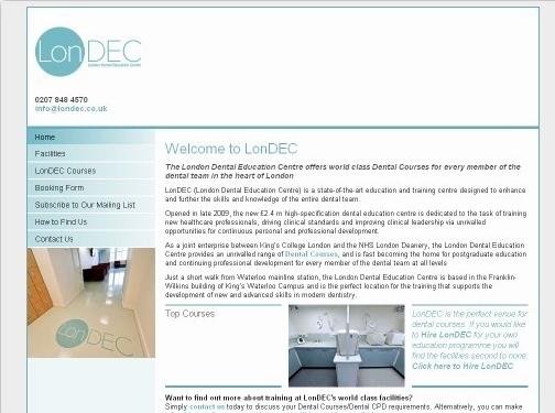 https://www.londec.co.uk/ website